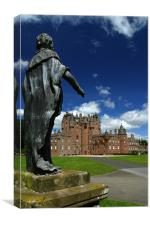 Glamis Castle I, Canvas Print