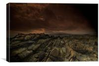 Mournes from St John's Point, Rossglass, Canvas Print