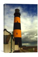 The Lighthouse at St John's Point, Canvas Print