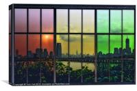 SHADES OF NEW YORK, Canvas Print