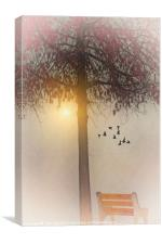 MORNING IN THE PARK, Canvas Print