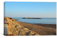 Selsey Beach, Canvas Print
