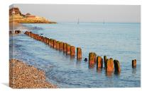 Selsey Shore, Canvas Print
