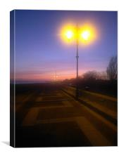 Southsea seafront, Canvas Print