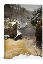 High Force Top, Canvas Print