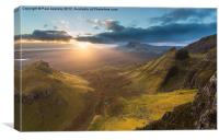 Quiraing, Skye, Canvas Print