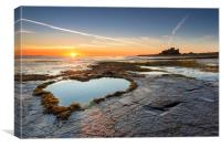 Heart of the North - Bamburgh, Canvas Print