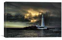 Mary Just After the Storm, Canvas Print