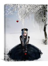Gothic Winter, Canvas Print