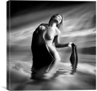 Lady Of The Lake, Canvas Print