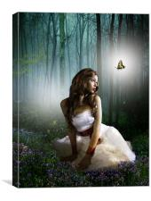 Madame Butterfly, Canvas Print