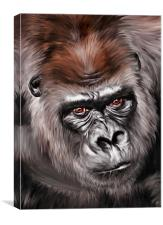 Mighty Joe, Canvas Print