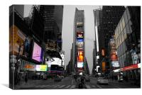 Time Square NY, Canvas Print