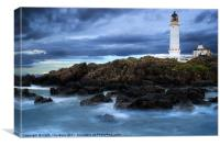 Corsewell Lighthouse, Canvas Print