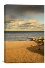 Portobello Beach, Canvas Print