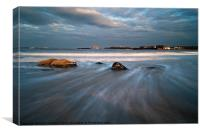 North Berwick Harbour, Canvas Print