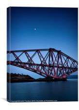 Forth Rail Bridge, Canvas Print