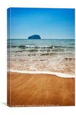 Tantallon Beach, Canvas Print