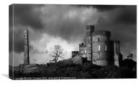 Calton Hill, Canvas Print