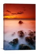 Sunset Sea, Canvas Print
