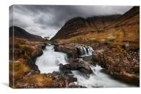 Glencoe River, Canvas Print
