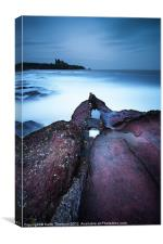 Tantallon Castle, Canvas Print