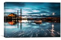 Cockenzie Power Station., Canvas Print