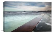 North Berwick Beach, Canvas Print