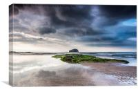 The Bass Rock, Canvas Print