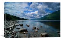 Loch Ness, Canvas Print