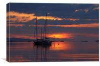 Rhu in Arisaig., Canvas Print