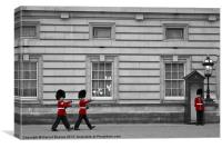 Change of the Guard, Canvas Print