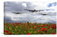 Lancaster Remembrance, Canvas Print
