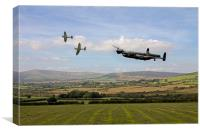 Lancaster Homeward Bound, Canvas Print