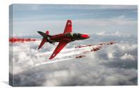 2014 Red Arrows, Canvas Print