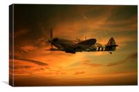 Spitfire Glory, Canvas Print