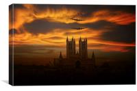 Lincolnshire Bombers, Canvas Print