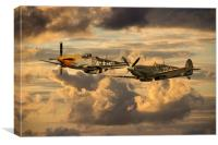 Old Flying Machines , Canvas Print