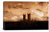Bomber Country , Canvas Print