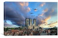 Lincolnshire Icons , Canvas Print