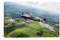 Spitfire Countryside Tour , Canvas Print