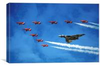 Vulcan with the Reds, Canvas Print