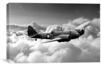Blenheim Bomber, Canvas Print