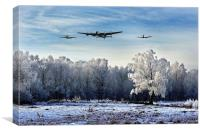 Wartime Winter, Canvas Print