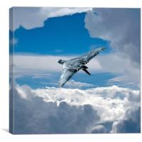 That Vulcan Wingover, Canvas Print