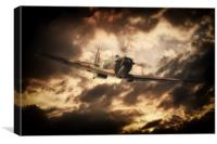The Mk.I Spitfire, Canvas Print
