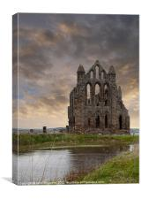 Whitby Abbey 1, Canvas Print