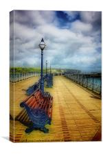 Swanage Pier, Canvas Print