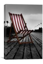 To be beside the seaside, Canvas Print