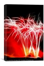Baby you're a firework, Canvas Print